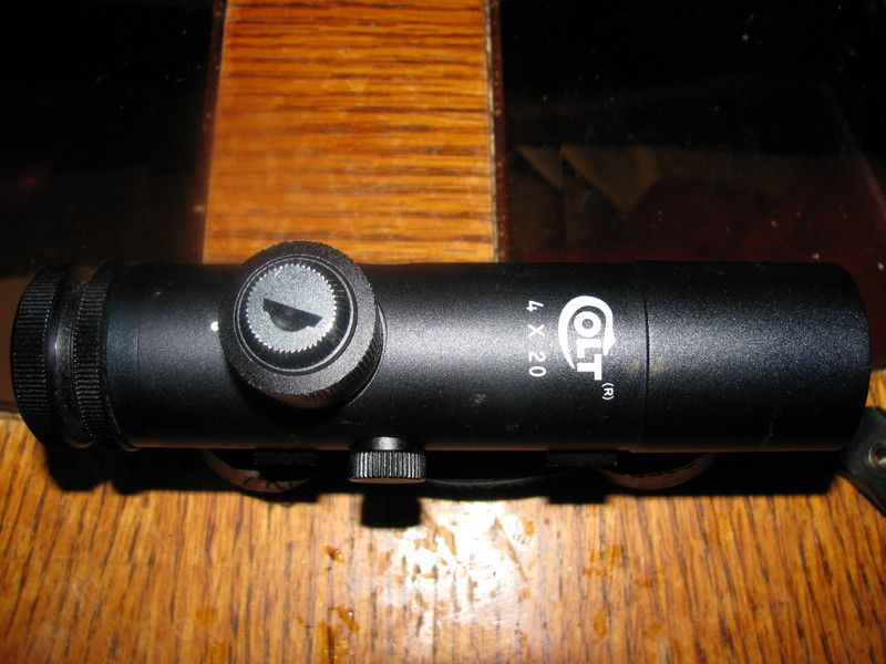 Made in Japan Colt 4x20 - Optics & Mounts