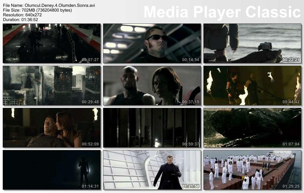 Ölümcül Deney 4: Ölümden Sonra - 2010 BDRip XviD - Türkçe Dublaj Tek Link indir