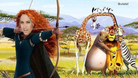 Lucero y Madagascar